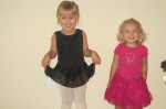 Avery and Haley at Dance Class