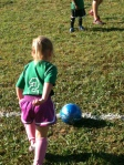 Avery and Haley at the last soccer game 1