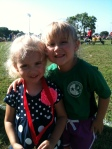 Avery and Haley at the last soccer game 3